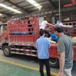 河北客户订购的大吨位丝杆升降机和齿轮转向箱发货啦