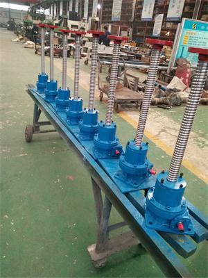 滚珠丝杆升降机具有怎样的规格与安装